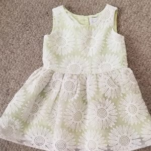 Girls Spring Sleeveless Dress 2T